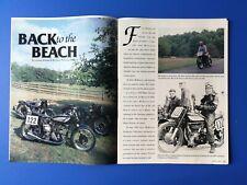 1948 Manx Norton Motorcycle - Original 6 Page Article