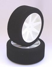 Gomme 1/10 Touring SP Racing spugna Kyosho Bianco 40sh Anteriore 26mm