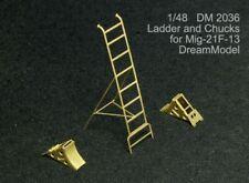 Ladder and wheel chocks MiG-21F-13 (Trumpeter kit) , DM2036, Dream Model, 1:48