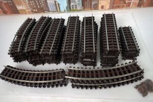 Lot Of 69 Vintage Postwar Lionel Super O Gauge 3 Rail Track Sections