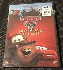 Cars Toon: Maters Tall Tales (DVD, 2010) New Sealed