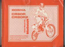 Honda CR80R-1 (2001) Factory Issue Service Repair Manual Book CR 80 R R2 BT32