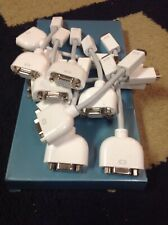 Lot Of 10 Apple Mini DVI to VGA Display Adapters M9320G/A  iMac / Macbook, Etc