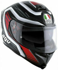 Casco Integrale in Fibra AGV K-5 S MULTI FIRERACE BLACK RED TAGLIA XS 54 cm