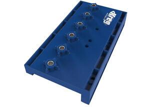 Kreg Lochreihen Bohrschablone 32 mm für Regalböden & Dübelbohrungen