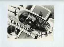 Jacques Laffite Ligier JS17 Dutch Grand Prix 1981 signé Press Photo 6