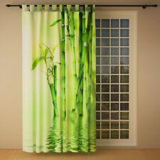 """Foto Schlaufenschal Vorhang Gardine """"Bambus links"""""""