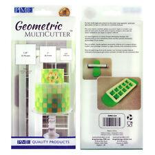 PME Geometrische Multicutter cake suikerglazuur snijder Vierkant 0,75/1/1,25duim