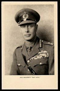 1930,s HIS MAJESTY THE KING ROYAL AIR FORCE TUCKS POSTCARD R.A.F UNIFORM
