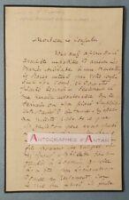 L.A.S Louis de VILLEPREUX - Marmande - Affaire testament Arblade 1844 - Lettre