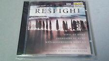 "JESUS LOPEZ COBOS ""RESPIGHI PINES OF ROME FOUNTAINS OF"" CD 21 TRACKS CD-80505"