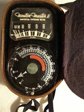 VINTAGE CAMERA WESTON MASTER UNIVERSAL LIGHT EXPOSURE II METER MOD.#735
