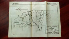 1919 Map of the Sanitary District of Chicago Lake Michigan Stony Creek Channels