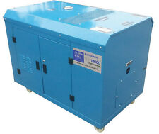 Generator Portable 12kVa - 20HP PETROL Key Start - 11,500W RATED *FREE DELIVERY*