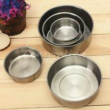 5x Stainless Steel Food Container Set Crisper Storage Lunch Box Bowls With Lids