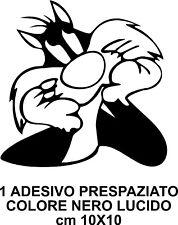 ADESIVO GATTO SILVESTRO ADESIVO TUNING AUTO CAMPER  CARROZZERIA