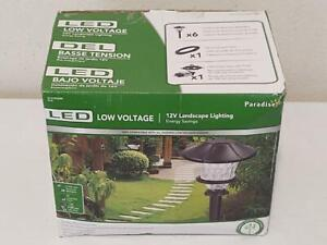 Paradise 12V LED Landscape Lighting (#GL33966BK)