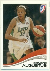 PROMO CARD - WNBA - 2007 - #P1 - SEIMONE AUGUSTUS - WOMEN'S BASKETBALL