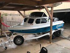 Fishing boat bellboy  5 m fishing boat rebuilt and dunbier trailer