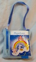 Vintage Care Bears PLUSH HANGING NOTEPAD AND PEN HOLDER