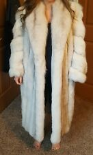 Full Length Fox Fur Coat by Guarino