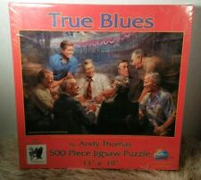 500 Pc True Blues Presidents by Andy Thomas Jigsaw Puzzle 19384 made in the USA