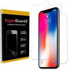 [4-PACK] iPhone X / iPhone 10 SuperGuardZ® Clear FULL BODY Screen Protector Film
