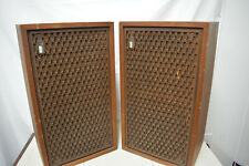 Vintage The Fisher XP-60K Speakers Pair Tested Working Ships Fast