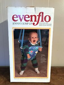 Vintage Evenflo Johnny Jump Up Baby Exerciser 1999 New