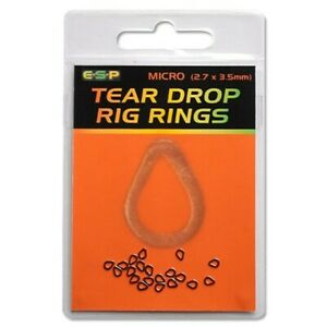 ESP Tear Drop Rig Rings Clearance Pack (15 packs)