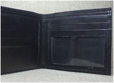 Buffalo Hide Black Bifold Wallet