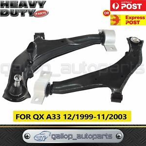 For Nissan Maxima A33 1999-2003 Front Lower Control Arm Left & Right Hand Side