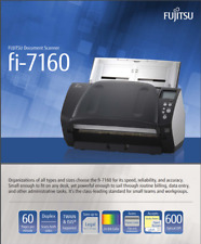 Fujitsu fi-7160 Image Scanner Previously Owned