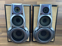 "Technics SB-EH760 hi-fi Bookshelf 16"" Speakers - Super Woofer/Tri-Wired"