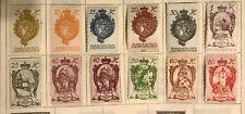 LIECHTENSTEIN postage stamps lot of 12 old