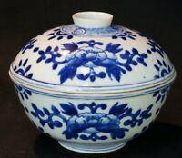Antique Japanese ceramic bowl Meshichawan 1880 Yakimono Japan craft