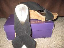 NIB size 8.5 black sandals