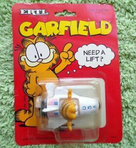Vintage Garfield Ertl Space Shuttle USA Die Cast 1990 Need A Lift Jim Davis MINT