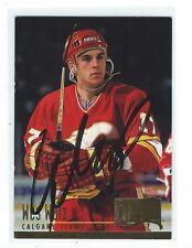 Wes Walz Signed 1994/95 Fleer Ultra Card #37