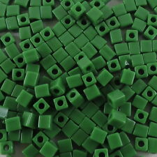 4 mm CUBE Miyuki Square Japanese Seed Beads  20g #304-550