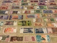 Collection Of World Banknotes. 50 Pcs. All Different Lot. Unc Assortment