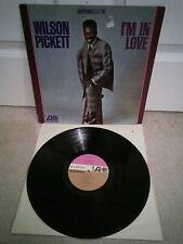 "Wilson Pickett I'm In Love Vinyl 12"" LP US Alternate Labels Atlantic SD 8175"