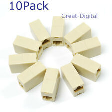 10 PCS RJ45 RJ-45 Ethernet Net network LAN Coupler Plug Adapter connections