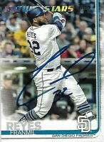 Franmil Reyes Autograph Auto 2019 Topps Future Stars San Diego Padres RC Card