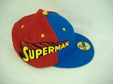 New Era Superman 7 5/8 Fitted Red Blue Cap Hat 59 50 Fifty 60.6 cm 5950 $33