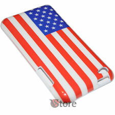 Cover Custodia Per iPod Touch 4 4G Bandiera America Americana USA