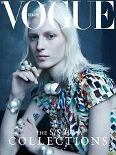 VOGUE Magazine Italia Italy January 2014,Julia Nobis NEW