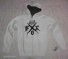 Fox racing x-polaire sweatjacke avec capuche sweat-shirt zip Hoodie Hoody NEUF taille M