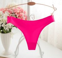 Seamless Underwear Women T Panties G String Brief Calcinha Lingerie Tanga Thong