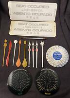 Vintage Airlines Memorabilia Lot Pan Am United American Airlines TWA Eastern